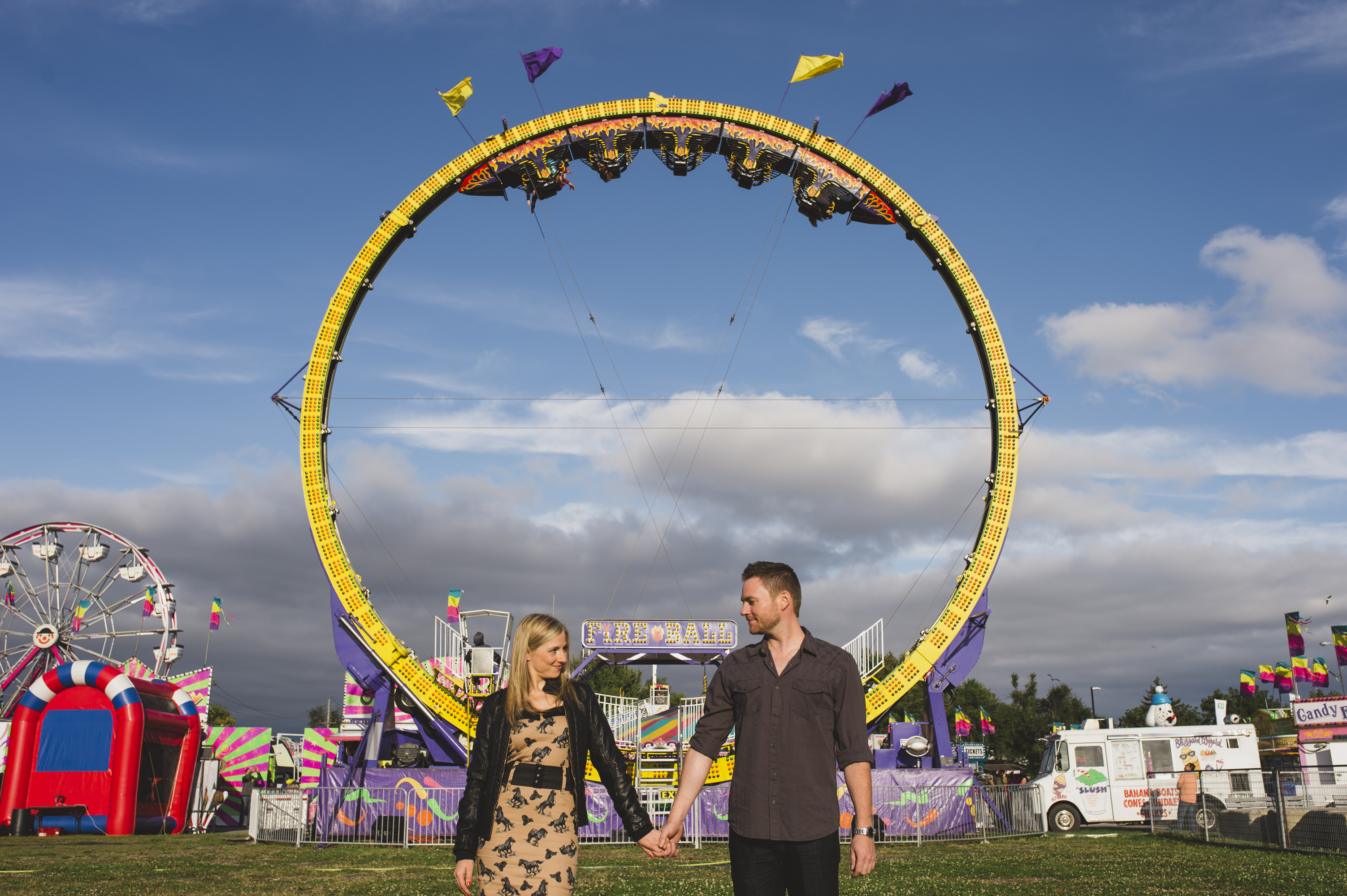 Fall Fair Engagement Photos Kingston Prince Edward County Ottawa And Destination Wedding