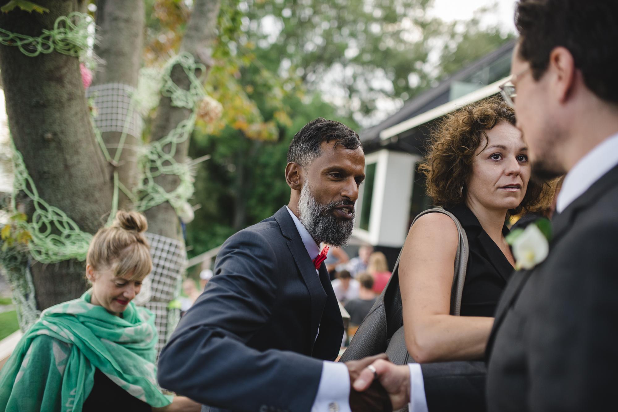 Fogo Island wedding