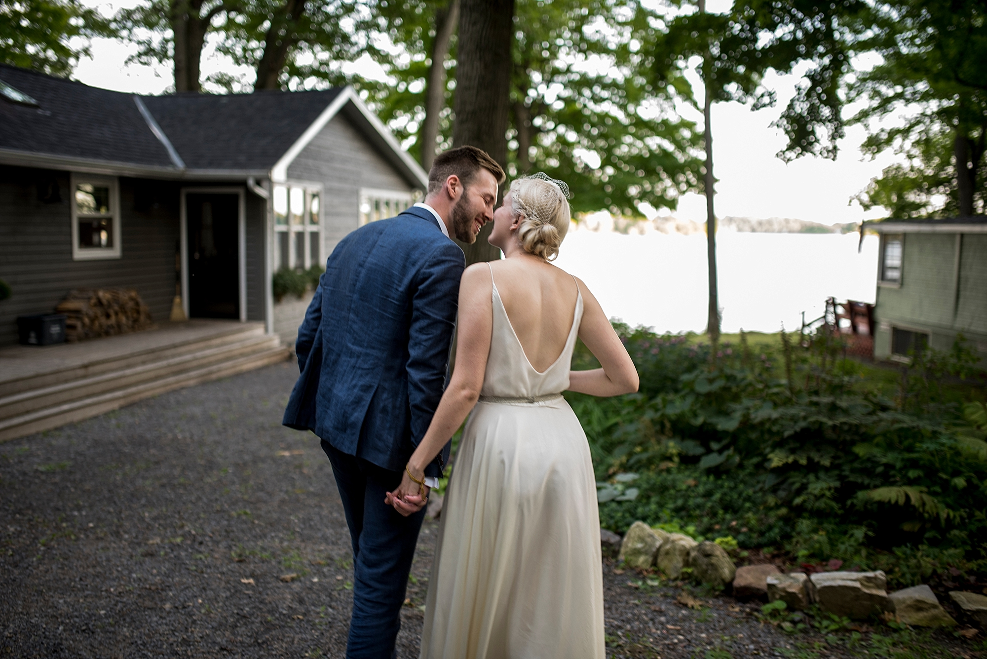 Gananoque cottage wedding