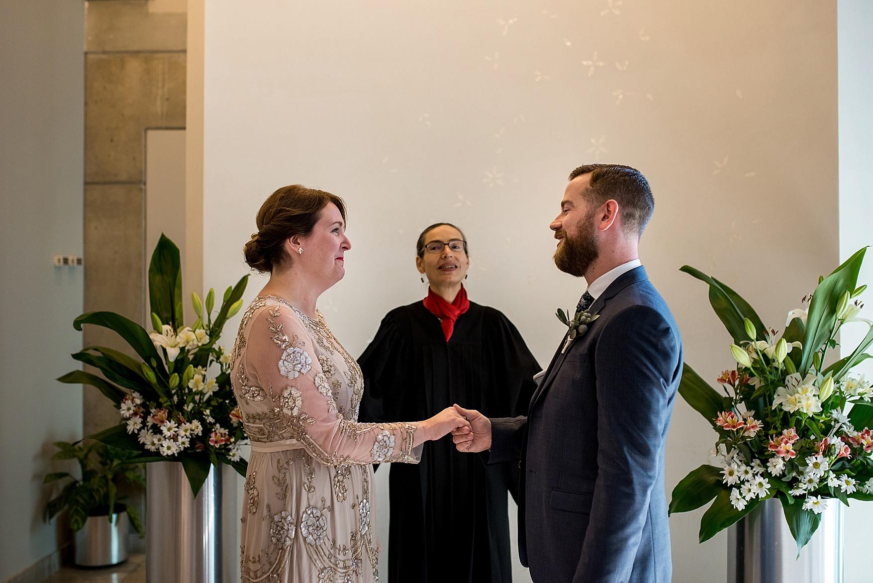Toronto City Hall wedding