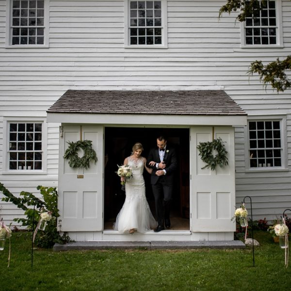 White Chapel Picton wedding