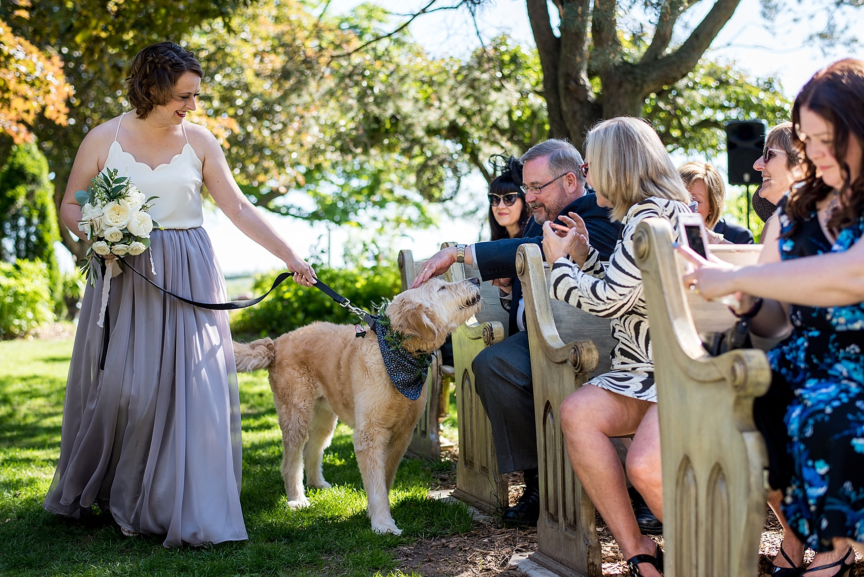 Honsberger Estate Winery wedding