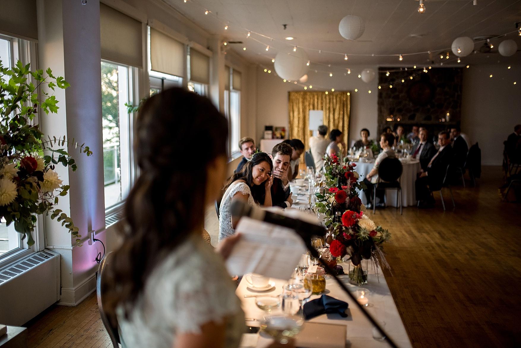 Argonaut Rowing Club wedding